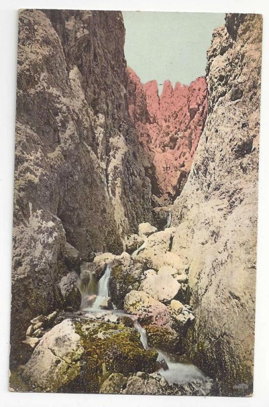 Austria Tirol Barenloch am weg zur Roterdspitze Postcard