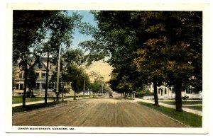ME - Sanford. Upper Main Street