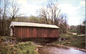 Kents Run Covered Bridge #5 near Mt. Perry, Ohio