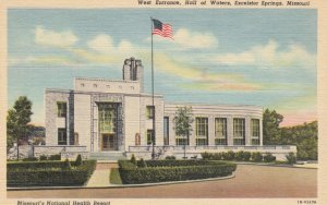 EXCELSIOR SPRINGS, Missouri,1930-1940s ; West Entrance-Hall of Waters