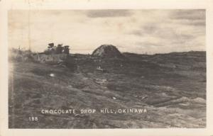 RP; OKINAWA, Japan, 1940s; Chocolate Drop Hill during WW II
