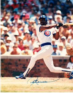 Andre Dawson - Chi. Cubs  8.5 x 11 Color  Photo