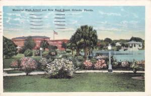 Memorial High School and New Band Street, Orlando, Florida, PU-1926