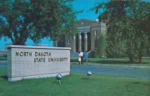 East Entrance To Campus North Dakota State University Fargo North Dakota