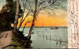 Washington Seattle View On Lake Washington 1907