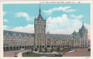 New York Albany D & H and Journal Building Curteich