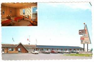 Motel 3 Pistoles , TROIS-PISTOLES, Quebec , Canada, 1983