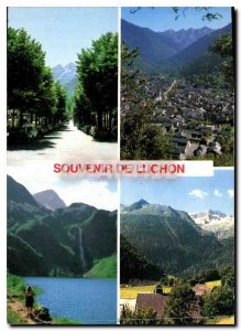 Modern Postcard Luchon The Queen of the Pyrenees Allees d'Etigny General view...