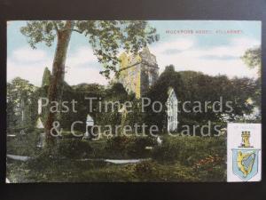 Co Kerry: Muckross Abbey, Killarney, Heraldic Arms of Ireland, Old PC