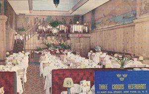 New York City Interior Three Crowns Restaurant sk2426