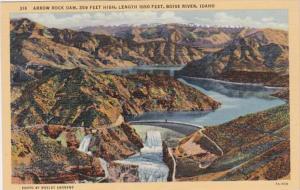 Idaho Arrow Rock Dam Boise River Curteich