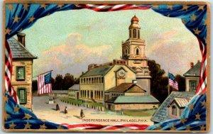 1910s TUCK'S Philadelphia Pennsylvania PA Postcard INDEPENDENCE HALL Unused