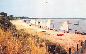 Cotuit Sailing Skiffs in Cape Cod, Massachusetts