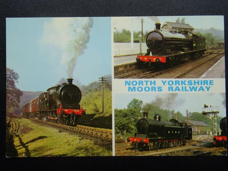 Nymr Nord Yorkshire Moors Chemin de Fer Locomotive No.5 & Lner 3395 - Old