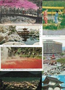 Japan - Nagasaki Kyoto Nikko Mt Fuji and More Lot of 20 01.10
