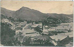 VINTAGE POSTCARD: SOUTH AFRICA - Simon's Town