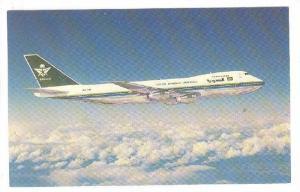 Airplane, Saudi Arabian Airlines, Boeing 747-168B, Kingdom Of Saudi Arabia, 1...