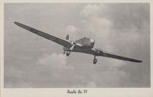 Arado AR77 German Biplane Fighter Plane Aircraft 1930s Pre WW2 Postcard
