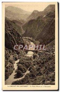 Old Postcard The Circuit du Lautaret the Auris and Romanche Bridge