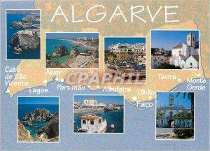 Postcard Modern Algarve Cabo Sao Vicente Alvor Colec??o Michael Howard