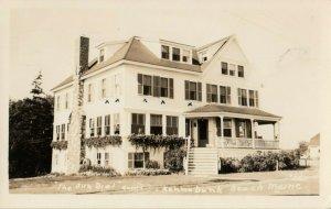 RP: KENNEBUNK BEACH , Maine , 1946 : The Sun Dial Guest House