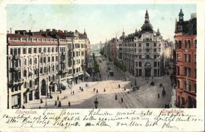 sweden, STOCKHOLM, Stureplan (1902) Stamp