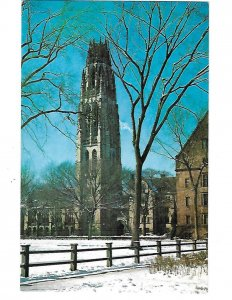 Yale University Harkness Tower 1960 New Haven Connecticut