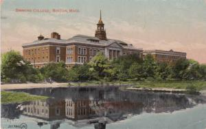 Simmons College - Boston MA, Massachusetts - pm 1910 - DB