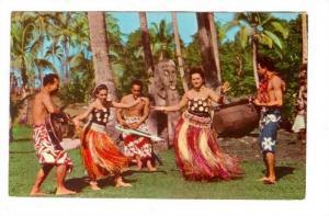 Island dancers , Fiji, 40-60s