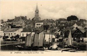 CPA PORNIC Les Yachts au Port (610708)