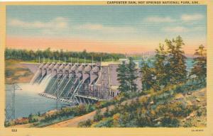 Carpenter Dam - Hot Springs National Park AR, Arkansas - Linen