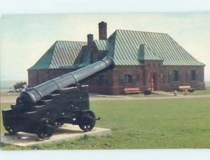 Pre-1980 MILITARY CANNON AT FORT Aulac In Sackville - Near Moncton NB d9456