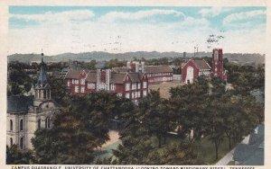 CHATTANOOGA , Tennessee, PU-1931; Campus Quadrangle, University Of Chattanooga