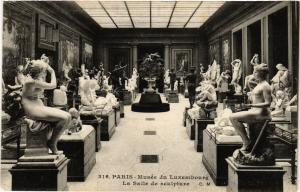 CPA Paris 6e Paris-Musée du Luxembourg-La Salle de sculpture (312131)