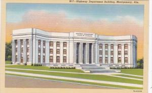 Alabama Montgomery Highway Department Building Curteich