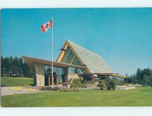 Pre-1980 TOWN VIEW SCENE Baddeck Nova Scotia NS p9452