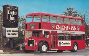 ADV: Double Decker Bus , Knights Inn Hotel Chain, 70-80s