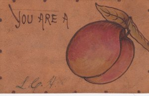 LEATHER ; You are a Peach , 1906