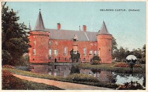 Netherlands, Helmond Castle (Holland) Chateau 1912