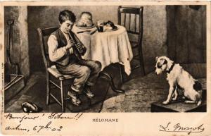 CPA Mélomane DOGS (727279)