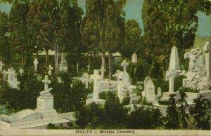 malta, GWARDAMANGA, Braksia Ta' Braxia Cemetery (1910s) Postcard