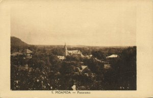 PC CPA SAMOA, PACIFIC, MOAMOA, PANORAMA, Vintage Postcard (b19447)
