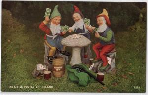 Little People of Ireland, Playing Cards