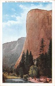 California  El Captain, Yosemite Valley 1932