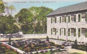 A Sunken Garden Valeria Home Oscawana New York Albertype