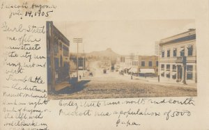 RP: PRESCOTT , Arizona , 1905 ; Cortez Street