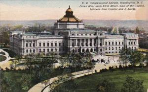 Washington D C United States Congressional Library Curteich