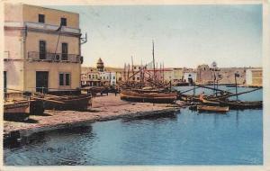 Tunisia Bizerte (Tunisie) - Vieux Port, harbour, hafen, boats, bateaux