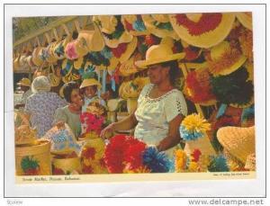 The Native Straw market, Nassau, Bahamas, 60s