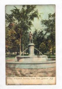 William Kirkpatrick Fountain, Union Park, Syracuse, New York, PU-1907